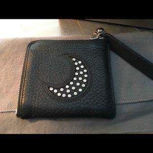 Alexander McQueen 💀 Black Leather Studded Wallet